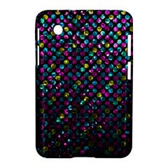 Polka Dot Sparkley Jewels 2 Samsung Galaxy Tab 2 (7 ) P3100 Hardshell Case  by MedusArt