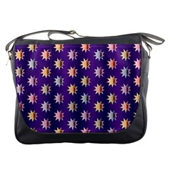 Flare Polka Dots Messenger Bag by Colorfulplayground