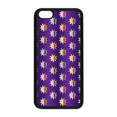 Flare Polka Dots Apple Iphone 5c Seamless Case (black) by Colorfulplayground