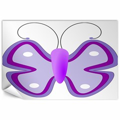 Cute Awareness Butterfly Canvas 12  X 18  (unframed) by FunWithFibro