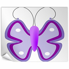 Cute Awareness Butterfly Canvas 16  X 20  (unframed) by FunWithFibro