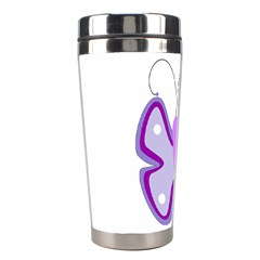 Cute Awareness Butterfly Stainless Steel Travel Tumbler by FunWithFibro