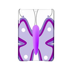 Cute Awareness Butterfly Apple Ipad Mini 2 Hardshell Case by FunWithFibro