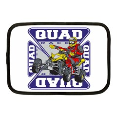 Quad Racer Netbook Case (medium) by MegaSportsFan
