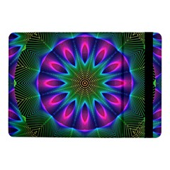 Star Of Leaves, Abstract Magenta Green Forest Samsung Galaxy Tab Pro 10 1  Flip Case by DianeClancy