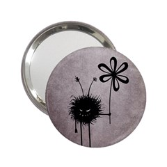 Evil Flower Bug Vintage Handbag Mirror (2 25 ) by CreaturesStore