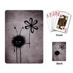 Evil Flower Bug Vintage Playing Cards Single Design Back