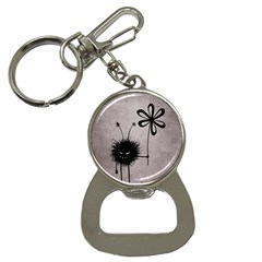 Evil Flower Bug Vintage Bottle Opener Key Chain by CreaturesStore