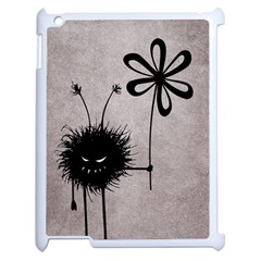 Evil Flower Bug Vintage Apple Ipad 2 Case (white) by CreaturesStore