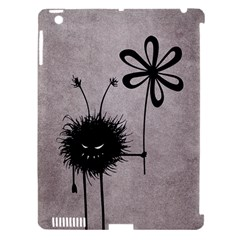 Evil Flower Bug Vintage Apple Ipad 3/4 Hardshell Case (compatible With Smart Cover) by CreaturesStore