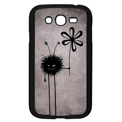 Evil Flower Bug Vintage Samsung Galaxy Grand Duos I9082 Case (black) by CreaturesStore