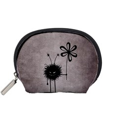 Evil Flower Bug Vintage Accessories Pouch (small) by CreaturesStore