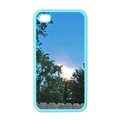 Coming Sunset Accented Edges Apple Iphone 4 Case (color) by Majesticmountain