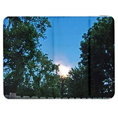 Coming Sunset Accented Edges Samsung Galaxy Tab 7  P1000 Flip Case by Majesticmountain