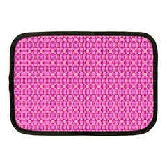 Pink Kaleidoscope Netbook Sleeve (medium) by Khoncepts
