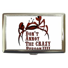 Crazy Person Cigarette Money Case