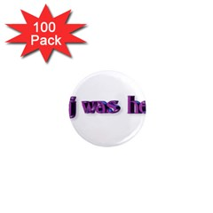 Weewee 1  Mini Button Magnet (100 Pack)