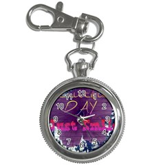 Beautiful Day Just Smile Key Chain Watch by SharoleneCollection