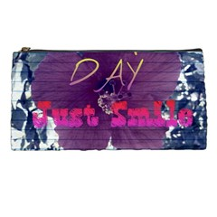 Beautiful Day Just Smile Pencil Case by SharoleneCollection