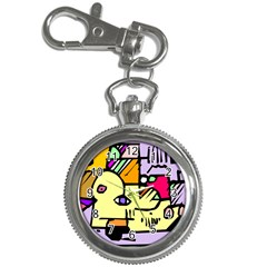 Fighting The Fog Key Chain Watch by FunWithFibro