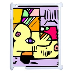 Fighting The Fog Apple Ipad 2 Case (white) by FunWithFibro