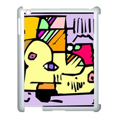 Fighting The Fog Apple Ipad 3/4 Case (white) by FunWithFibro