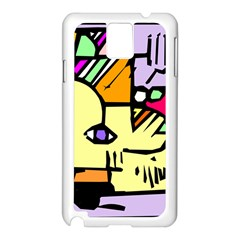 Fighting The Fog Samsung Galaxy Note 3 N9005 Case (white) by FunWithFibro