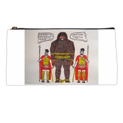 Big Foot & Romans Pencil Case by creationtruth