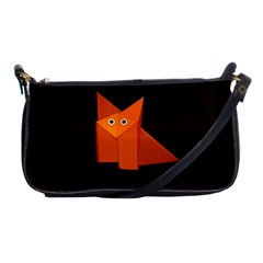 Dark Cute Origami Fox Evening Bag