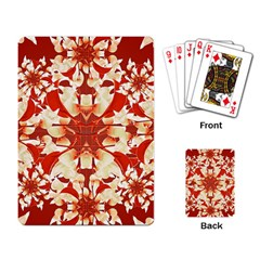 Digital Decorative Ornament Artwork Playing Cards Single Design by dflcprints