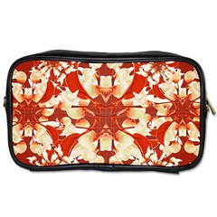 Digital Decorative Ornament Artwork Travel Toiletry Bag (two Sides) by dflcprints