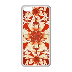 Digital Decorative Ornament Artwork Apple Iphone 5c Seamless Case (white) by dflcprints