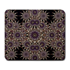 Luxury Ornament Refined Artwork Large Mouse Pad (rectangle) by dflcprints