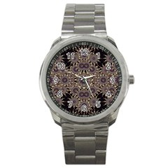 Luxury Ornament Refined Artwork Sport Metal Watch by dflcprints
