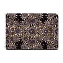 Luxury Ornament Refined Artwork Small Door Mat by dflcprints