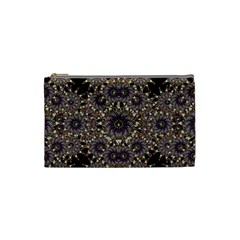 Luxury Ornament Refined Artwork Cosmetic Bag (small) by dflcprints