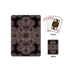 Luxury Ornament Refined Artwork Playing Cards (mini) by dflcprints