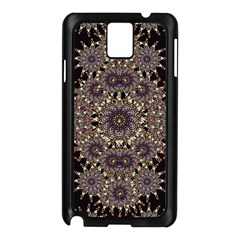 Luxury Ornament Refined Artwork Samsung Galaxy Note 3 N9005 Case (black) by dflcprints