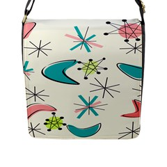 Atomic New 11 Flap Closure Messenger Bag (large) by GailGabel