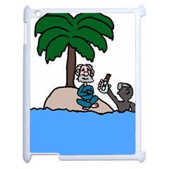 Desert Island Humor Apple Ipad 2 Case (white)