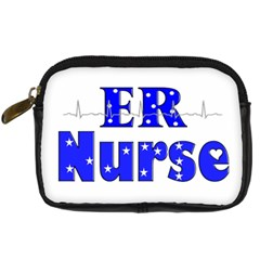 Er Nurse  Digital Camera Leather Case by GailGabel