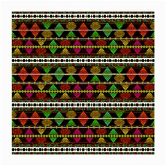 Aztec Style Pattern Glasses Cloth (medium) by dflcprints