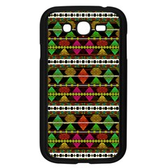 Aztec Style Pattern Samsung Galaxy Grand Duos I9082 Case (black) by dflcprints