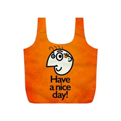 Have A Nice Day Happy Character Reusable Bag (s)