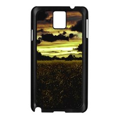 Dark Meadow Landscape  Samsung Galaxy Note 3 N9005 Case (black) by dflcprints