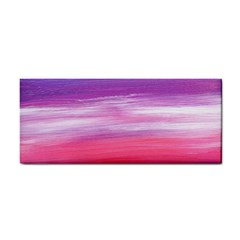 Abstract In Pink & Purple Hand Towel by StuffOrSomething