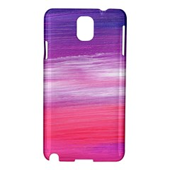 Abstract In Pink & Purple Samsung Galaxy Note 3 N9005 Hardshell Case