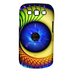 Eerie Psychedelic Eye Samsung Galaxy S Iii Classic Hardshell Case (pc+silicone) by StuffOrSomething