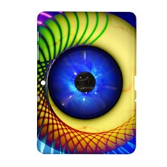 Eerie Psychedelic Eye Samsung Galaxy Tab 2 (10 1 ) P5100 Hardshell Case  by StuffOrSomething