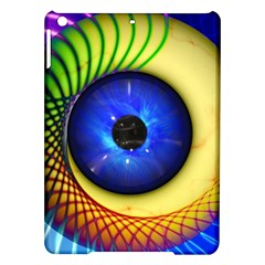 Eerie Psychedelic Eye Apple Ipad Air Hardshell Case by StuffOrSomething